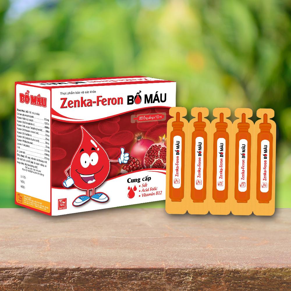 Zenka-Feron bổ máu